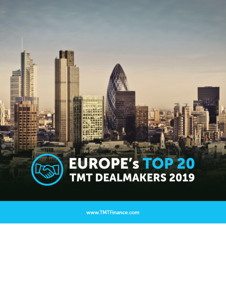 Europes Top 20 TMT Dealmakers 2019 - Front Cover